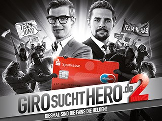 Sparkasse – Giro sucht Hero